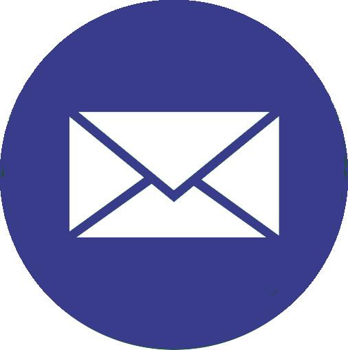 email blauw